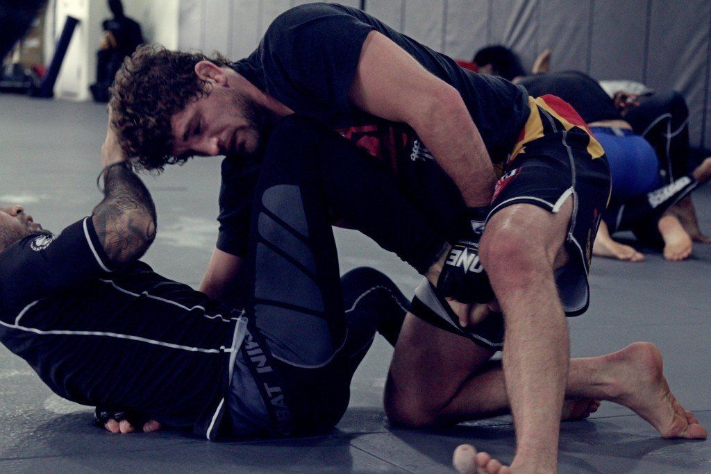 Leg pull - Submission Grappling
