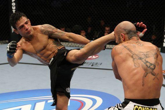 UFC Lightweight Champion Rafael dos Anjos