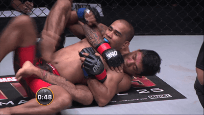 Alex Silva vs Rene Catalan