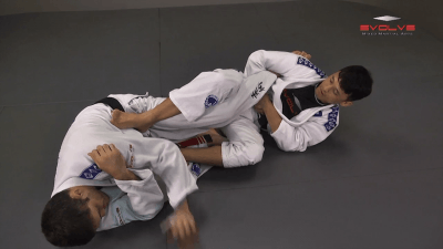 Ankle Lock From Open Guard