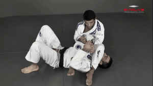 Arm Bar Escape Variation