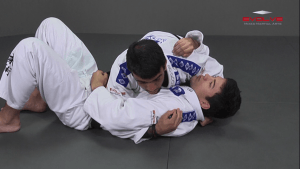 Arm Bar From Knee On Belly Position