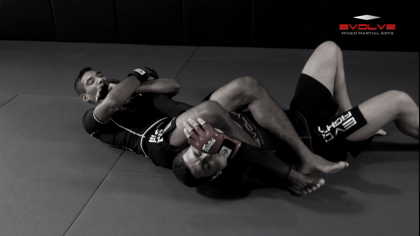 Arm Bar From S Mount