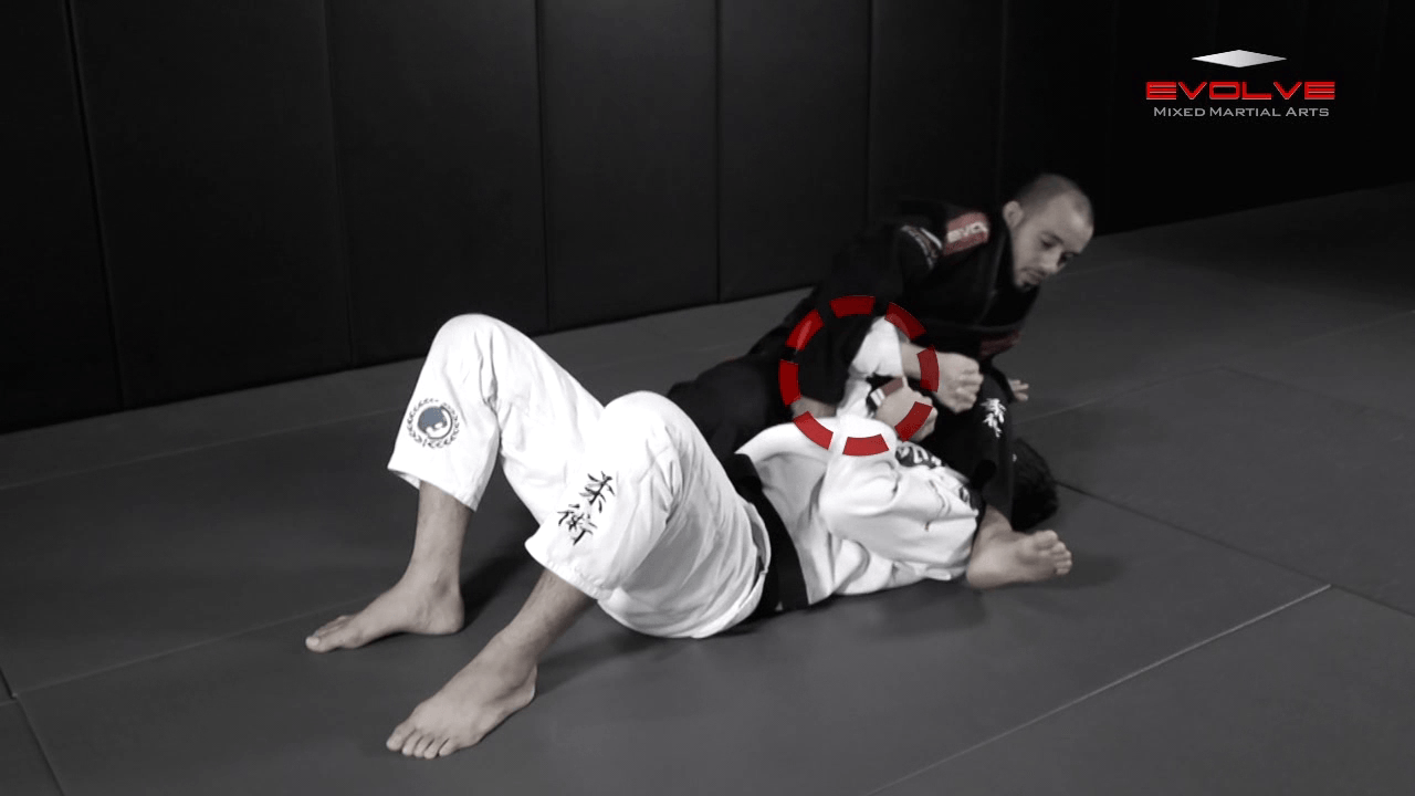 Arm Bar From Side Control