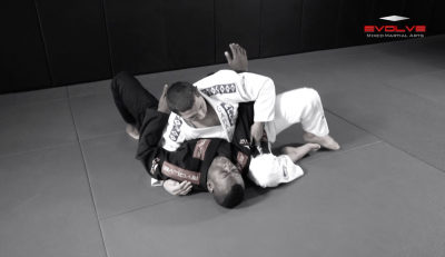 Arm Bar From Side Control Variation 2