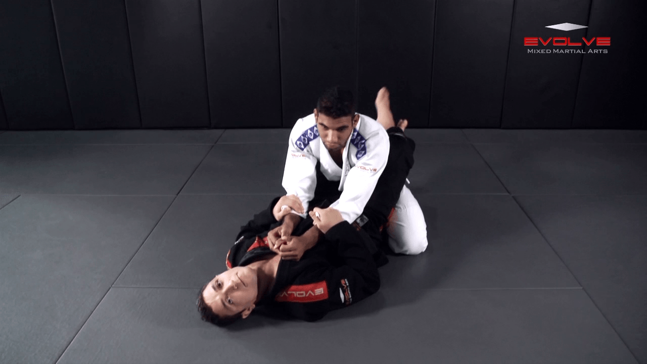Arm Bar Speed Drill