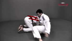 Arm Drag To Double Leg Sweep