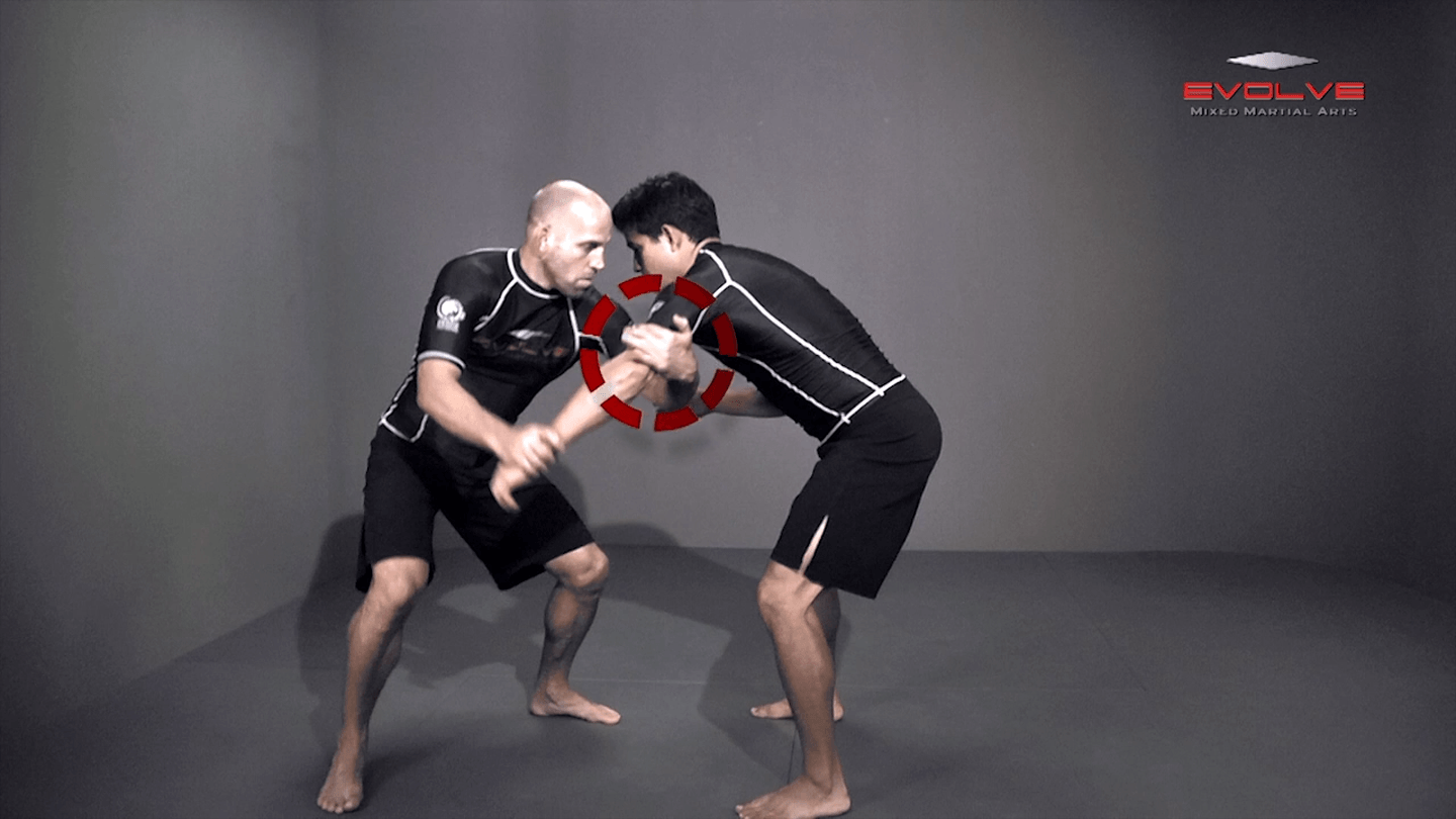Arm Drag To Double Leg Takedown