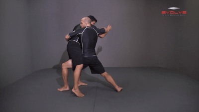 Arm Drag To Inside Step Finish