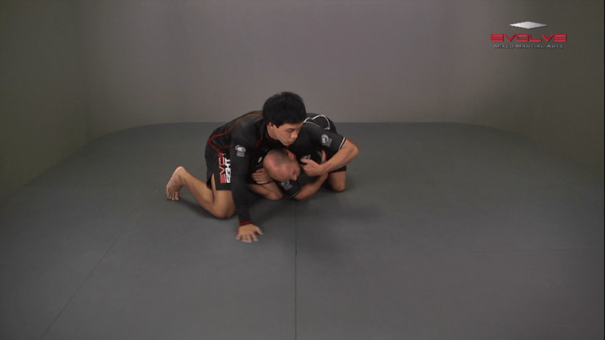 Arm Spin Finish From Knees