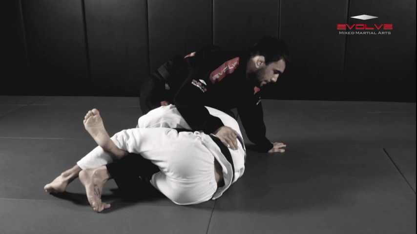 Armbar From Top Deep Half Guard