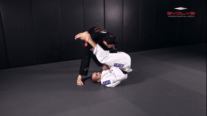 Armbar From Upside Down Guard