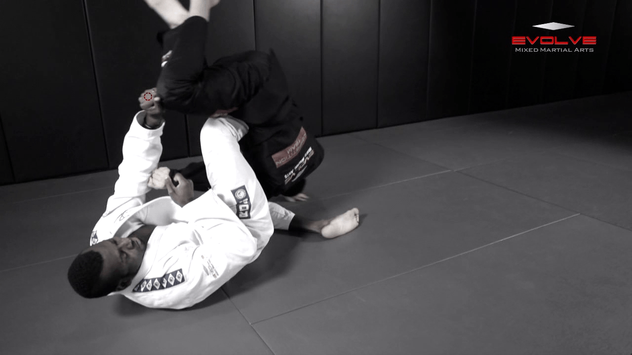 Armbar Variation From Closed Guard