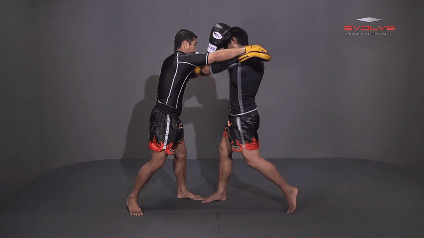 Attachai Fairtex: Block Punches To Up Elbow