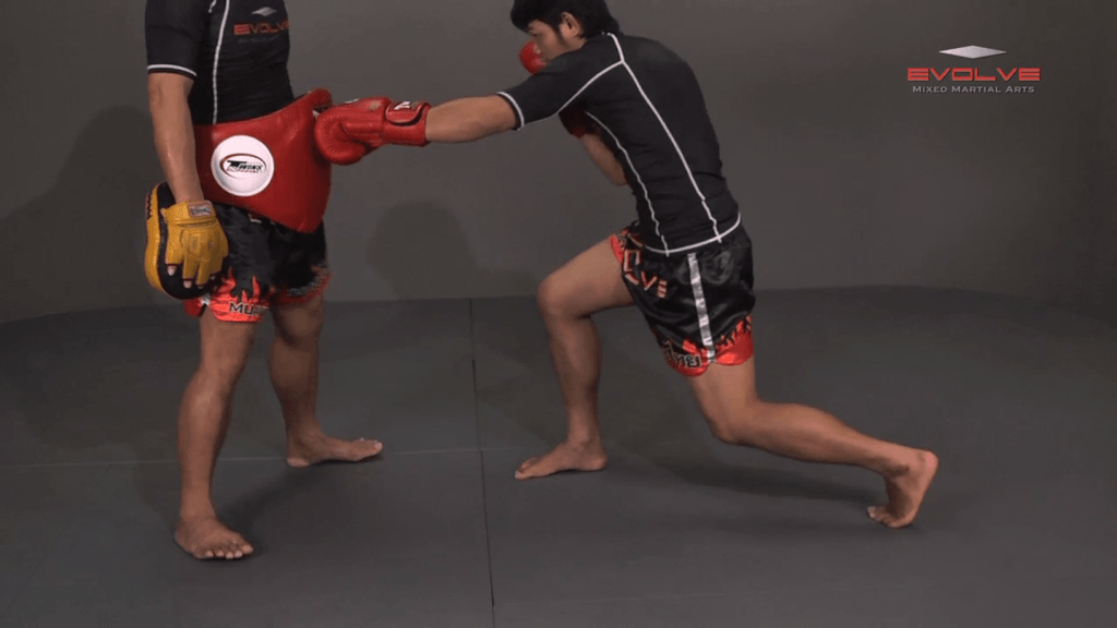 Attachai Fairtex: Body Shot, Overhand Left