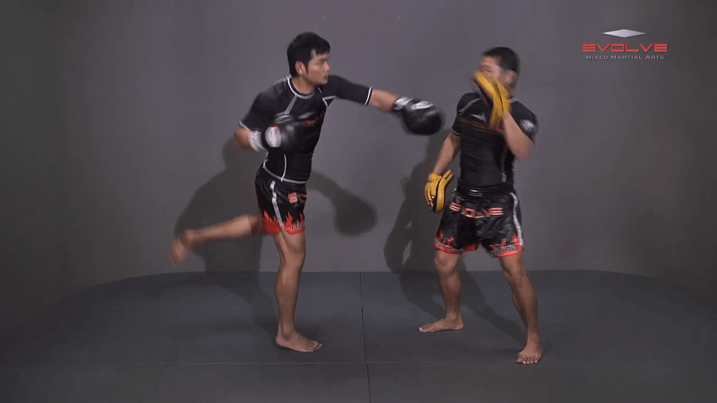 Attachai Fairtex: Fake Kick To Cross