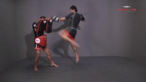 Attachai Fairtex: Push Away To Jump Kick