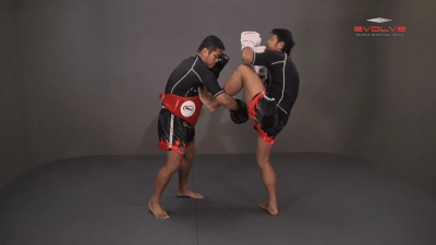 Attachai Fairtex: Push Kick To Counter Leg Catch