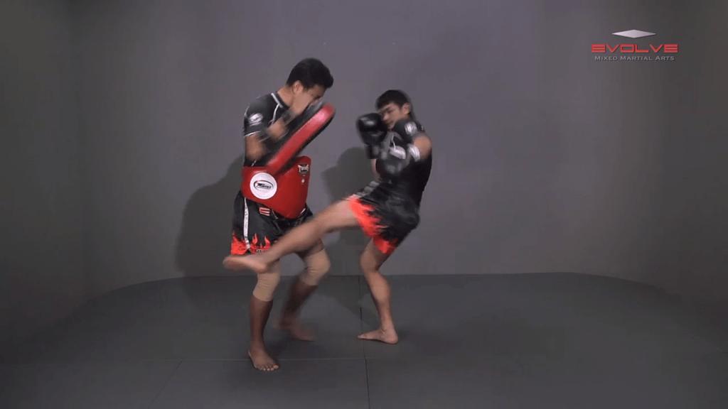 Attachai Fairtex: Right Hook, Low Kick