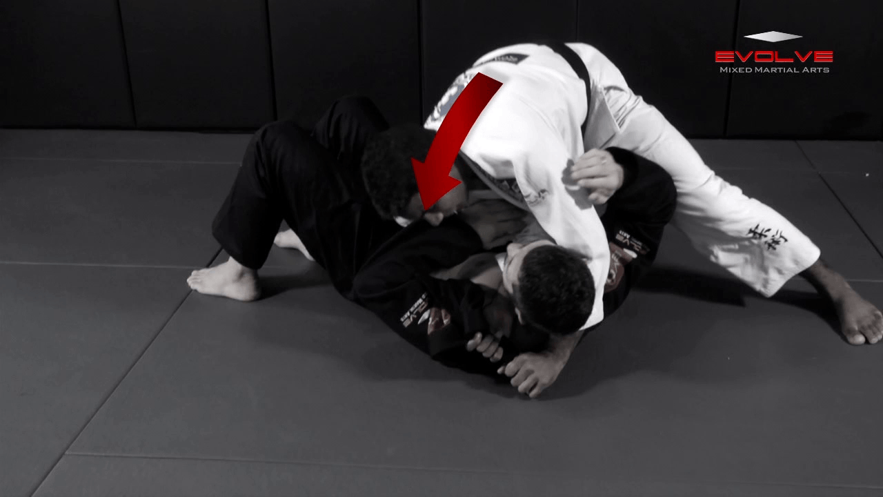 Baseball Choke From Side Control Variation