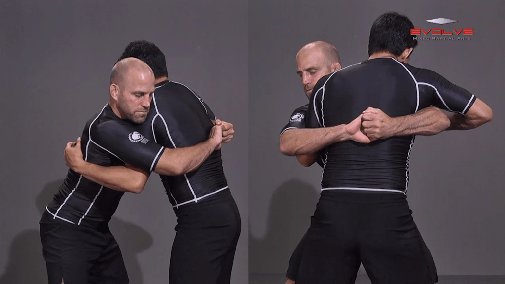 Bodylock From Over And Under Position