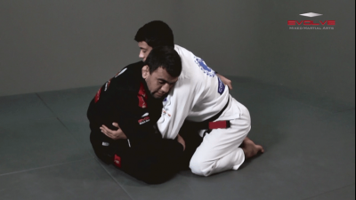 Butterfly Guard (Basic Position)