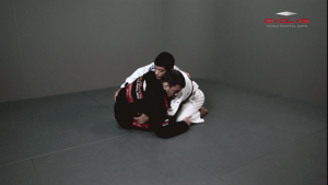 Butterfly Guard Sweep Variation