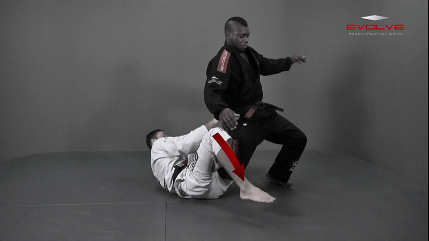Calf Lock From Spider Guard