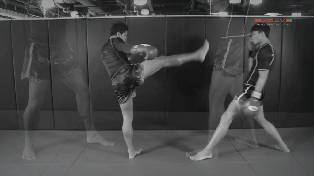 Chalee Sor Chaitamin: High Kick, Slide Push Kick