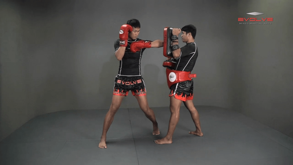 Chaowalith Jocky Gym: Block Punches, Right Up Elbow, Left Elbow