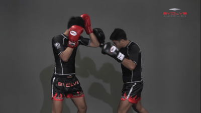Chaowalith Jocky Gym: Block Punches, Up Elbow
