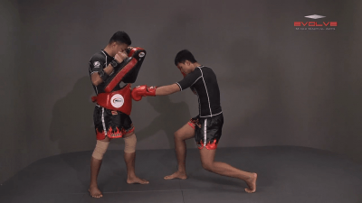 Chaowalith Jocky Gym: Body Shot, Hook, Low Kick, High Kick