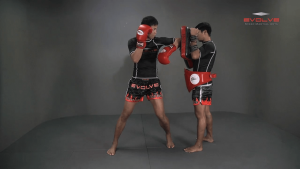 Chaowalith Jocky Gym: Jab, Cross, Fake, Jab, Elbow