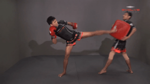 Chaowalith Jocky Gym: Kick, Side Push Kick