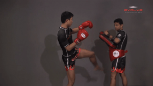 Chaowalith Jocky Gym: Push Kick Inner Thigh, Jump Kick