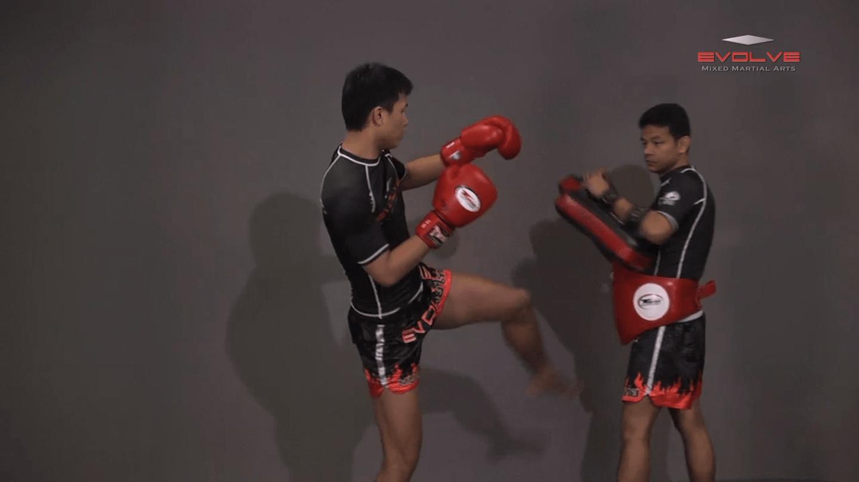 Chaowalith Jocky Gym: Push Kick Inner Thigh, Jump Kick