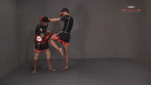 Chaowalith Jocky Gym: Right Kick, Left Punch, Left Elbow, Left Knee