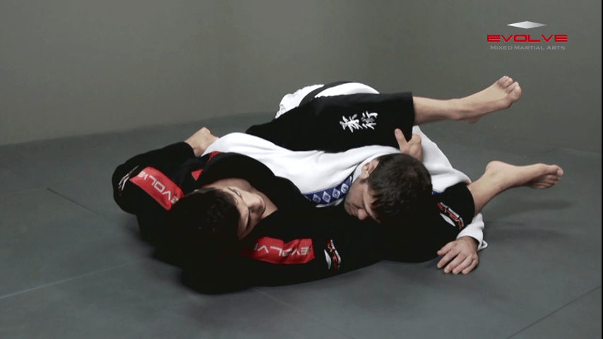 Choke Combination From Omoplata