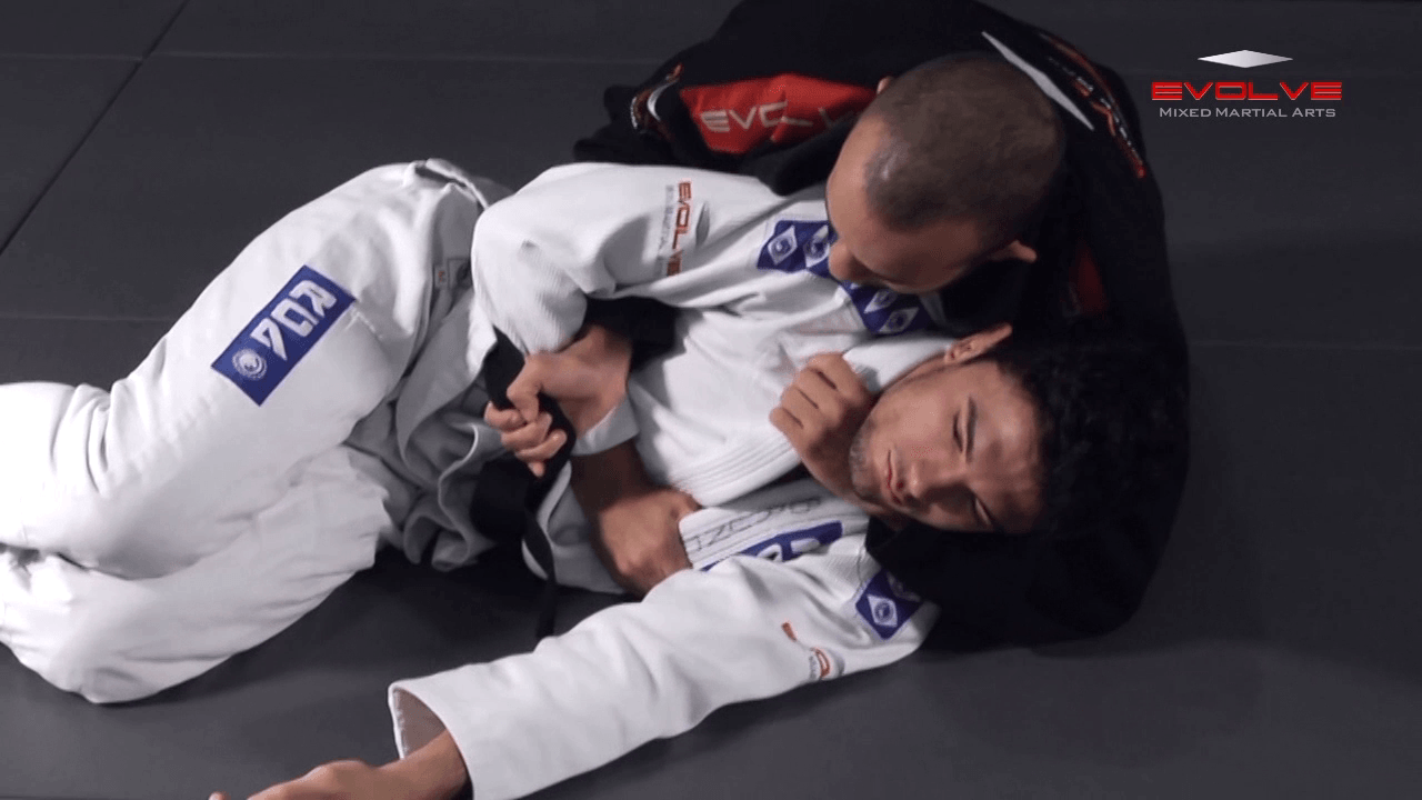 Choke From North South Position – Arm Trap