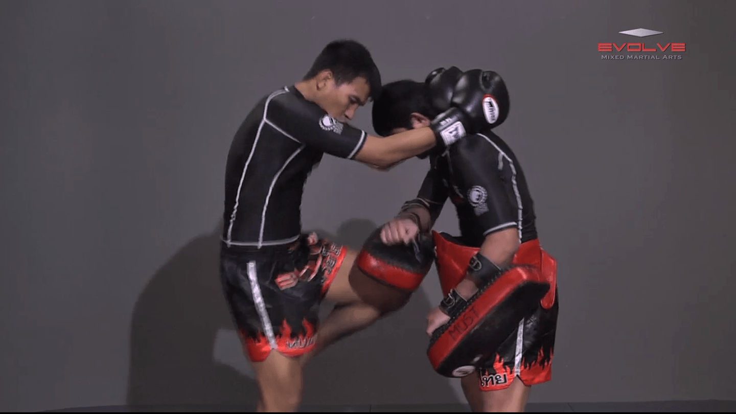 Clinch Knee Drill