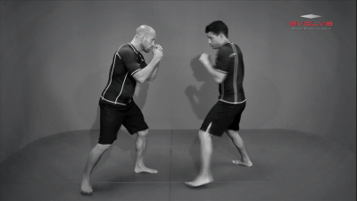 Clinch Position From Opponent's Overhand Right
