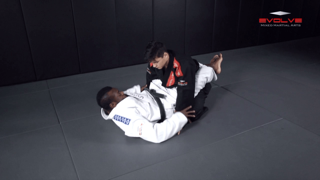 Closed Guard Transition To Back Control