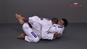 Collar Choke From Close Guard