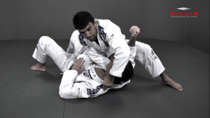 Collar Choke From Knee On Belly Position