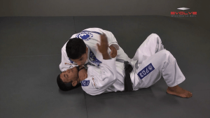 Collar Choke From Side Control
