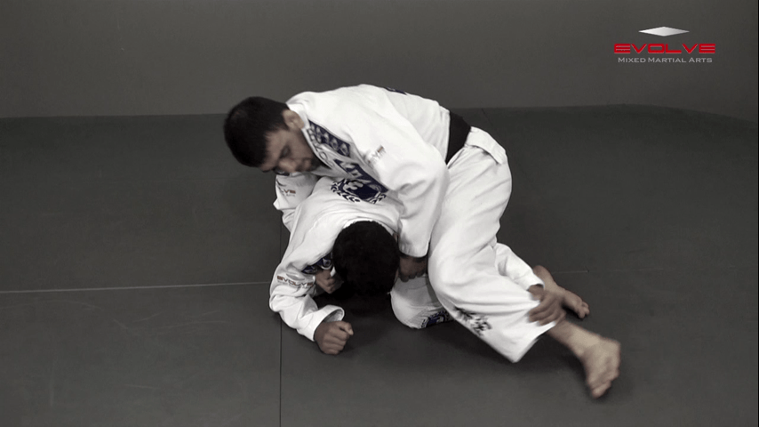 Crucifix Choke From Turtle Position