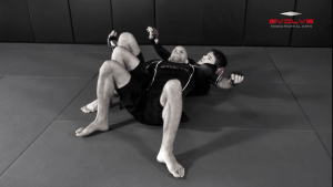 Crucifix Transition To Back Control