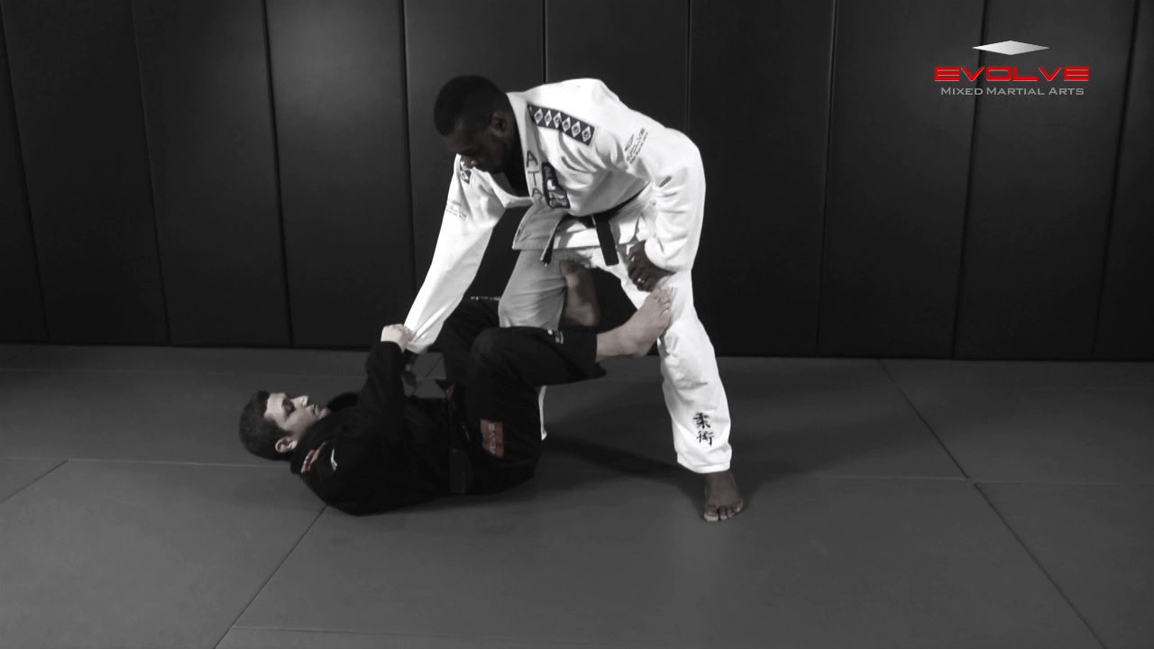De La Riva Sweep To Side Control Variation