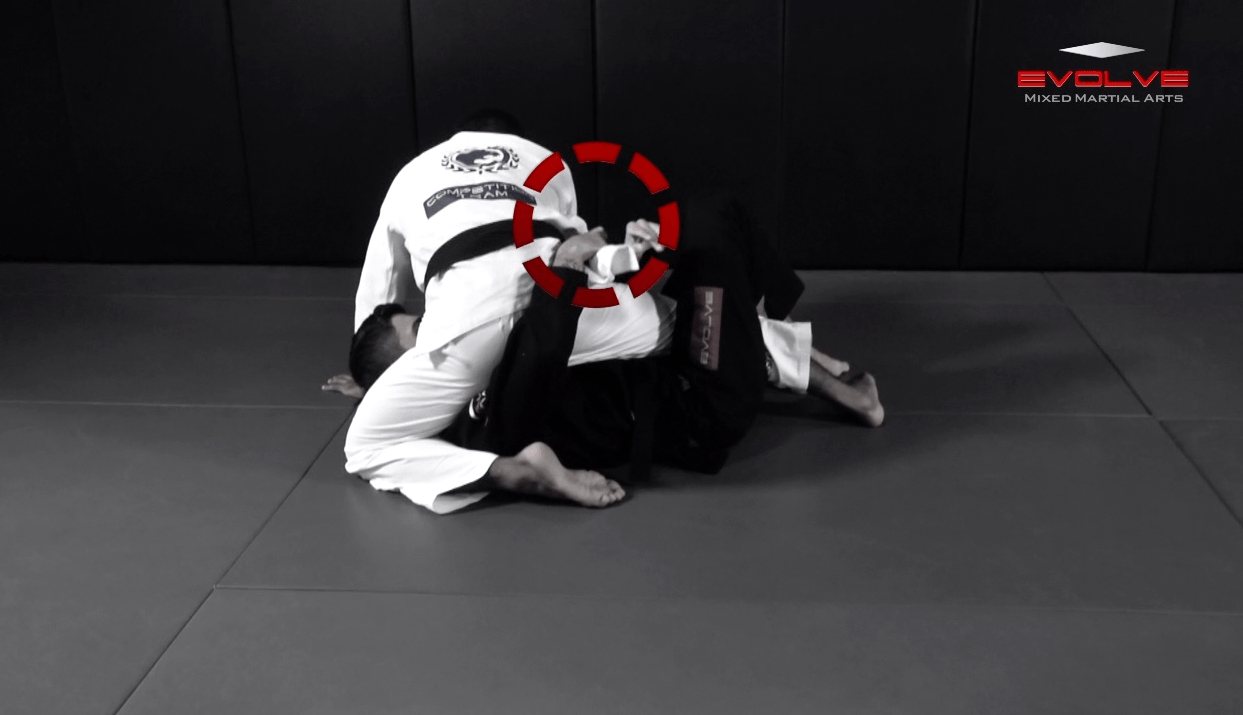 Deep Half Guard Sweep