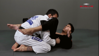 Deep Half Guard Sweep Lapel Control